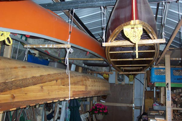 HANGING YOUR CANOE
